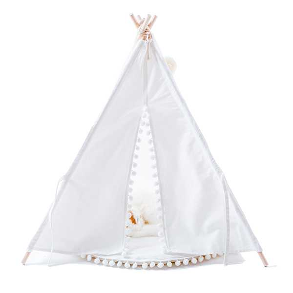 Puppy Snuggle Canvas Bed Tent from Wonder Space $60