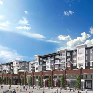 Montrose Square turned heads in downtown PoCo selling 170 units in approximately two weeks.