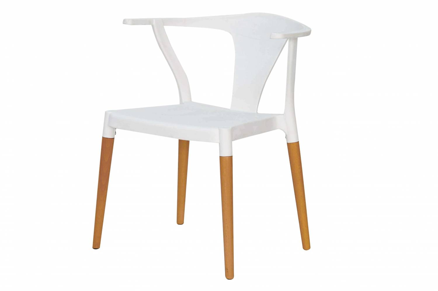 Makenna solid wood dining chair by AC Pacific.