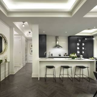 Luxury features and finishes