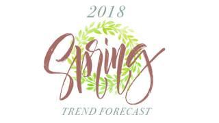 Spring 2018 trend forecast