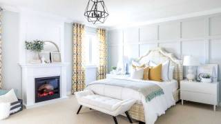 Designer Jo Alcorn creates a cosy bedroom