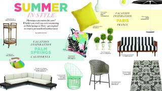 Summer in Style - Inspiration - Palm Springs and Paris