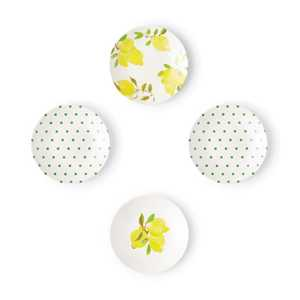 Melamine tidbit plates by Kate Spade New York. $40 (set of four) bedbathandbeyond.ca