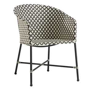 Brava dining-lounge grey wicker chair. $479. cb2.com