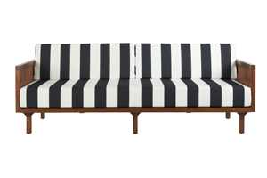 Tropez black and white stripe sofa. $1,899. cb2.com