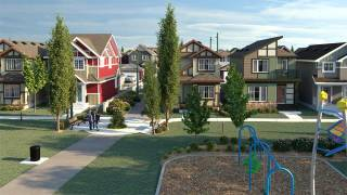Terrace Park homes in Laurel Green in Edmonton