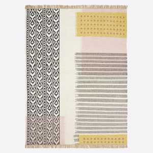 Ikat mix indoor/outdoor rug. From $300 westelm.ca
