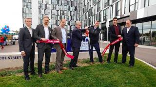 Podium Developments and Building Capital grand opening