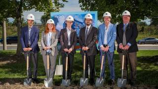 Davpart celebrates AVRO Condominium construction