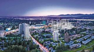 Boutique highrise living in Surrey at Centra
