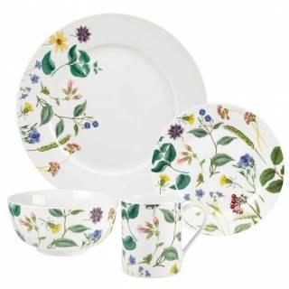 Flower Journal 16-piece dinnerware set by Spode Home, $72. eBay.ca