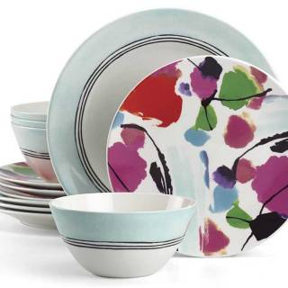 Manarola 12-Piece dinnerware set by Lenox. $183. eBay.ca