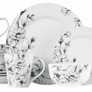 Wild rose 16-piece dinnerware set by Canvas. $120. Canadiantire.ca
