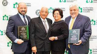 Fred and Lino Losani inducted to the HHHBA Hall of Fame