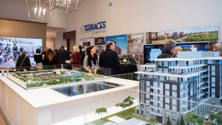 The River Terraces II breaks ground in Old Ottawa East