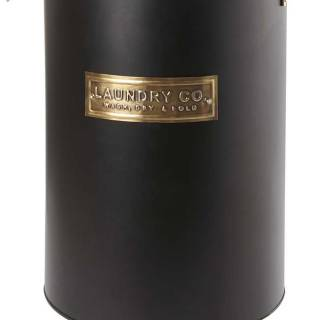 Lined laundry hamper with metallic accents. $40. Homesense.ca