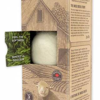 Moss creek wool works pure wool dryer balls. $19. Well.ca
