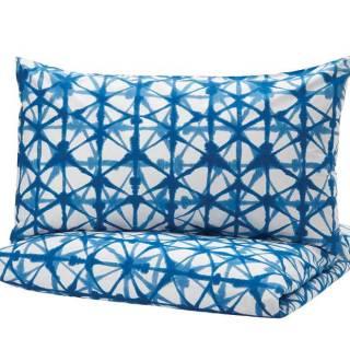 Stjarnflocka duvet cover and pillowcases. From $25. Ikea.ca