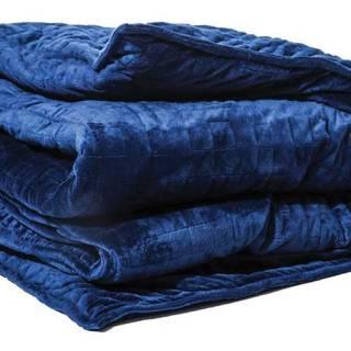 Gravity weighted blanket - 15lb in galaxy blue. $279. Indigo.ca