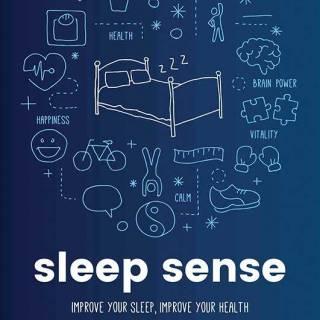 Sleep Sense: Improve your sleep, improve your health by Katharina Lederle. $20. Indigo.ca