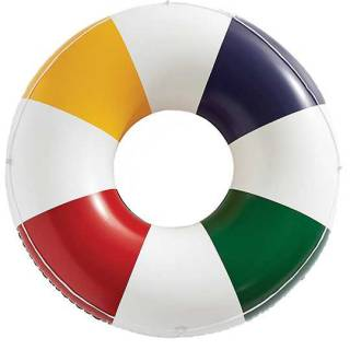 HBC stripes large pool float. $30. thebay.com