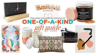 One-of-a-kind gift guide