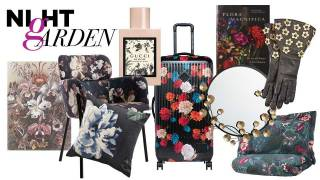 Night garden, dramatic florals for your home decor