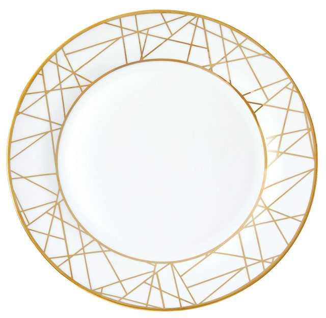 Metallic dining plate. $6. Homesense.ca