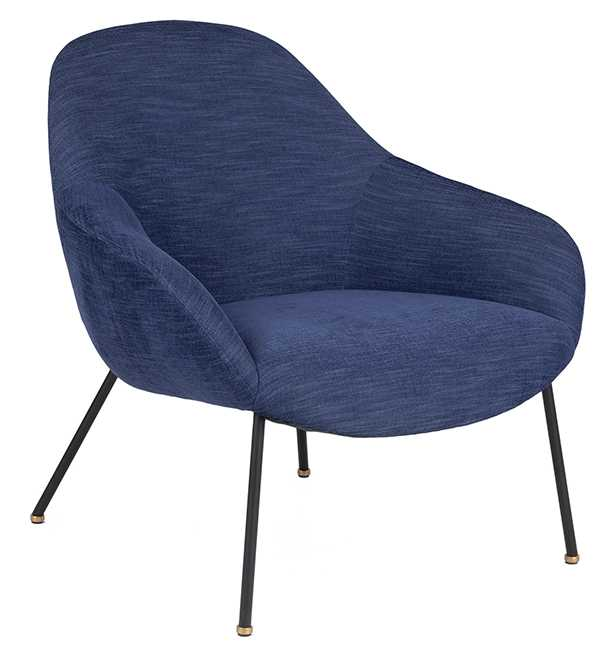 Savary chair in lapis blue. $899. Article.com