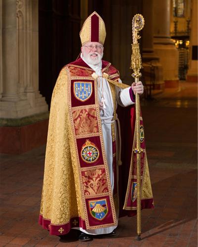 Bishop Dietsche Official Portrait