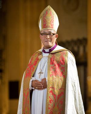 Bishop Shin Vested