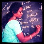 Prof at Board