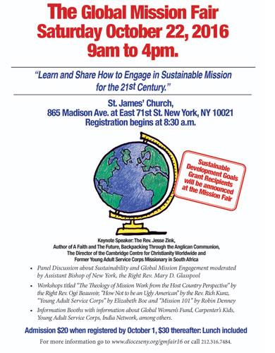 2016 Global Mission Fair