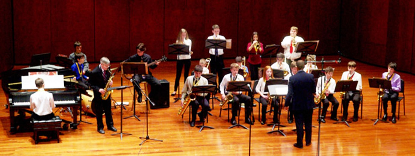Seton Hill Holds Youth Honors Jazz & Concert Band Concert January 30