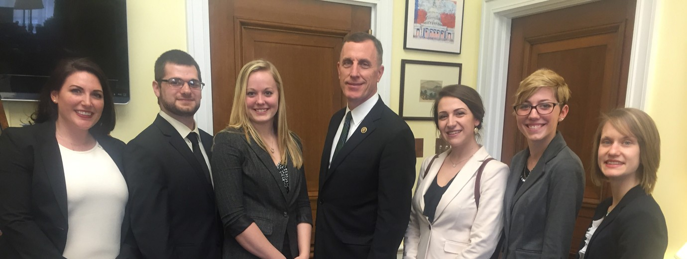 Nutrition & Dietetics Students Travel to D.C. to Advocate for Nutrition Policy