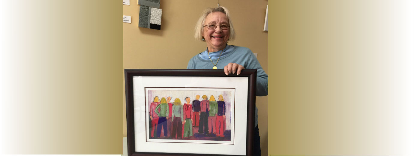 Alumna Frances Howard Marze '60 Featured in Pure Pigment Art Exhibit