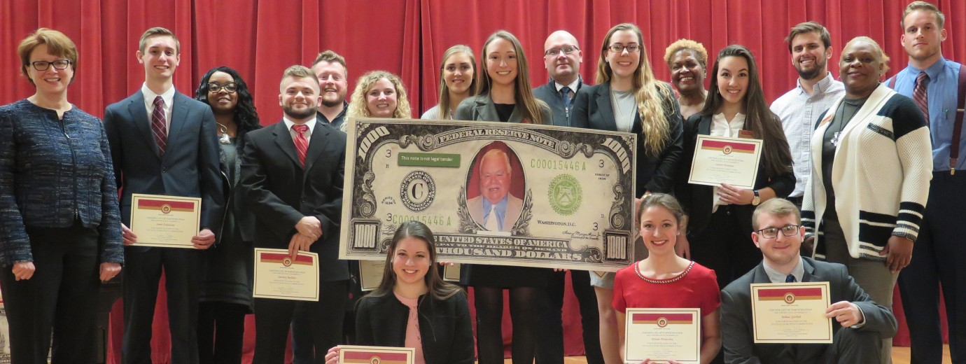Seton Hill Students Perform Under Pressure at Elevator Pitch Competition