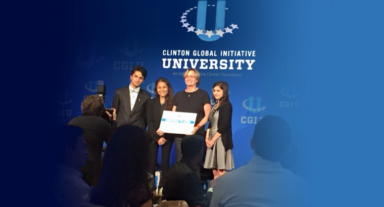 Student Attends Clinton Global Initiative University Conference