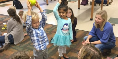 "Child Development Center Students Enjoy ""STEAM Day"""