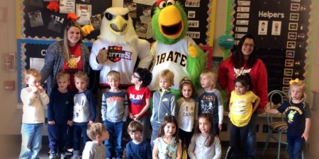 Littlest Setonians Grow Their Community with Help from Friends  (Including the Pirate Parrot)