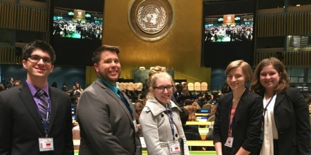 Seton Hill Students Represent Cambodia at Model United Nations Conference