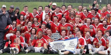 Men's Lacrosse Wins Inaugural G-Mac Title