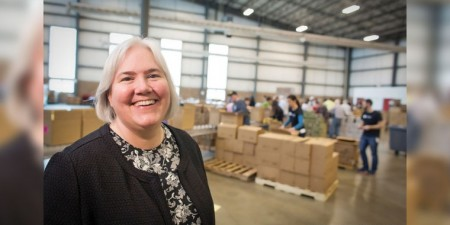 Seton Hill Alumna and Attorney Lisa Scales Feeds 110,000 People A Month As CEO of Greater Pittsburgh Community Food Bank