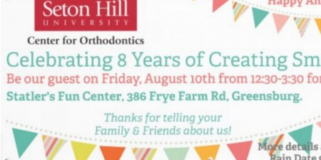 Center for Orthodontics to Celebrate 8th Anniversary with Patient Appreciation Event August 10