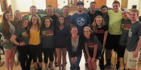 Steelers Quarterback Landry Jones Brings God into the Huddle at Seton Hill Event