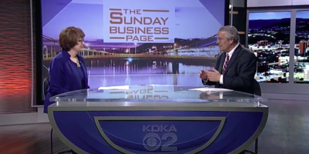 President Finger Discusses Academic Programs, Centennial on KDKA-TV