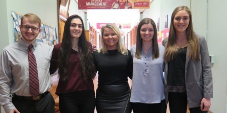 Seton Hill Student Entrepreneur Team Selected to Compete Nationally in the e-Fest Business Plan Competition