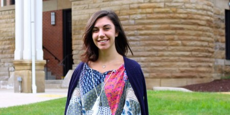 Business Major Finds Career & Graduate Program at Her Alma Mater