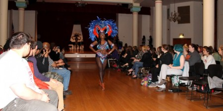 Annual Fashion Show Features International Style